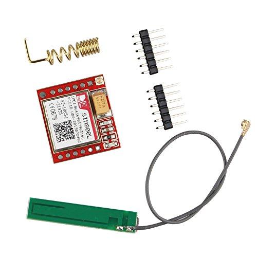 Haljia SIM800L Red GPRS cuatribanda GSM módulo Breakout