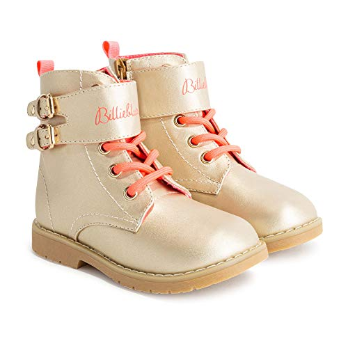 Bottines irisées lacets et zip BILLIEBLUSH LAYETTE DORE 22