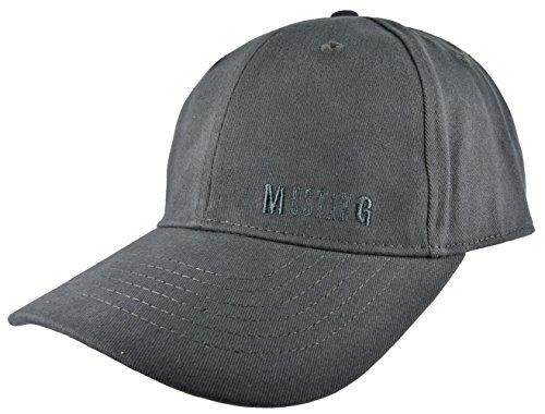 MUSTANG Basecap Mütze 6-Panel-Cap Base Cap Kappe Baseball Cap uni one size div. Farben (stahlgrau)