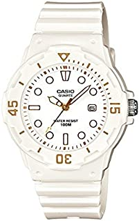 Casio Girls Quartz Watch, Analog Display and Resin Strap