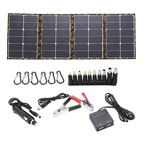 Kongqiabona-UK Panelalligator Clipdc Cable de Carga Cablecar de Carga 6X Mosquetones Conectores para Laptop Panel Solar de 120W USB DC Energía Solar Generación de baterías Monocristalino Solar