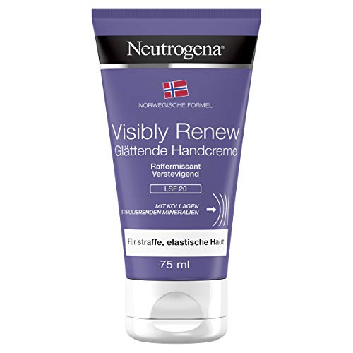 Neutrogena Norwegische Formel Handcreme, Visibly Review, mit LSF 20, 75ml