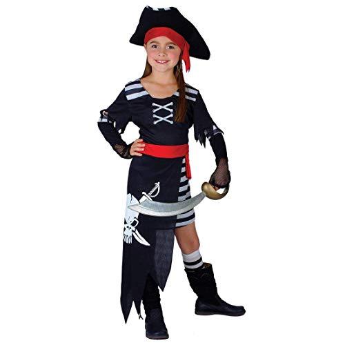 Wicked Costumes Seeräuber Piraten Prinzessin Verkleidung für Mädchen Fasching Karneval Kostüm