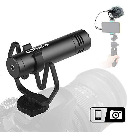 SYNCO Mic-M1(Metal) On-Camera Shotgun...