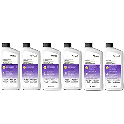 Whirlpool Water Softening Cleanser Formula 16oz, Pack of 6