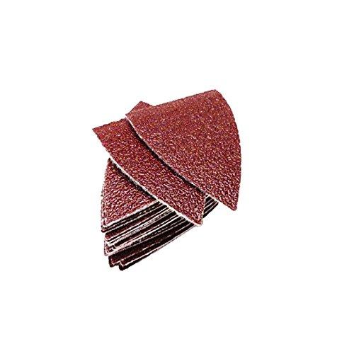 20 x TopsTools SASHF20_1 50mm x 35mm pequeñas hojas de lija para Dewalt Stanley Black and Decker Bosch Fein (No-StarLock) Makita Milwaukee Ryobi Worx Multi herramienta accesorios