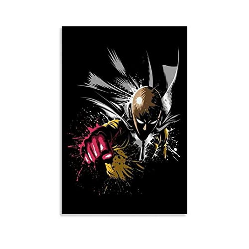 JNFB Android Anime Wallpaper One Punch Man - Póster artístico para pared (20 x 30 cm)