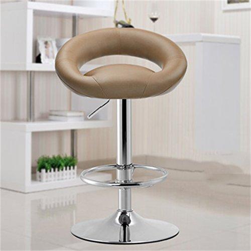 Tabouret en bois Bar tabouret bar chaise réception caissier haute tabouret mode simple style européen pivotant tabouret de bar (Couleur : #2)