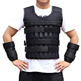 Sports Weighted Vest Adjustable Workout Equipment Weighted Sleeveless Garment for Fitness Running Training without Regulus Lead (Without Lead block)