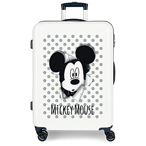 Disney Have a good day Mickey Maleta mediana Multicolor 48x68x26 cms Rígida...