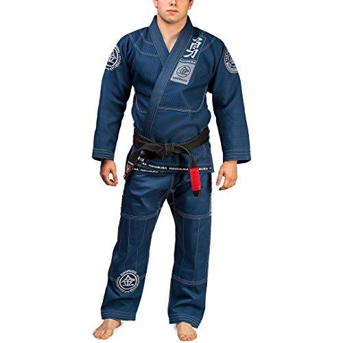 Hayabusa Goorudo 3 Gold Weave Jiu Jitsu Gi - Blue, A2