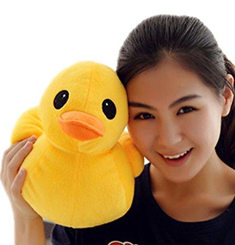 PeiGee 30CM Plush Yellow Duck Soft Stuffed Animal Toy Sofa Decoration Kids Birthday