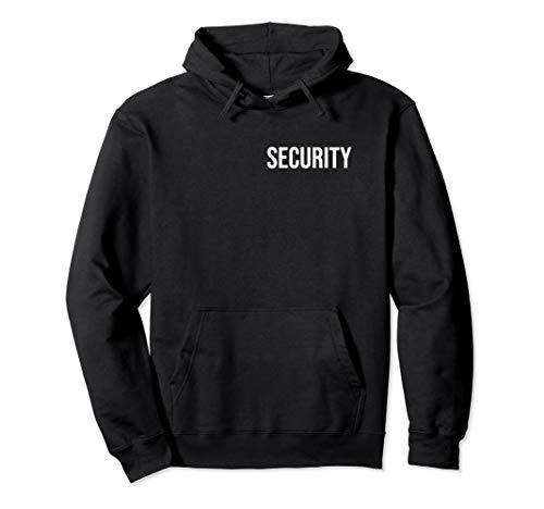 Security Sicherheitsdienst Personenschützer Bodyguard Kostüm Pullover Hoodie