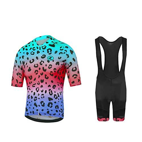Uglyfrog Abbigliamento Ciclismo Uomo Giacca Bici Maglia Ciclismo Manica Lunga e Gel Pantaloni Lunghi MTB Termico Salopette Ciclismo