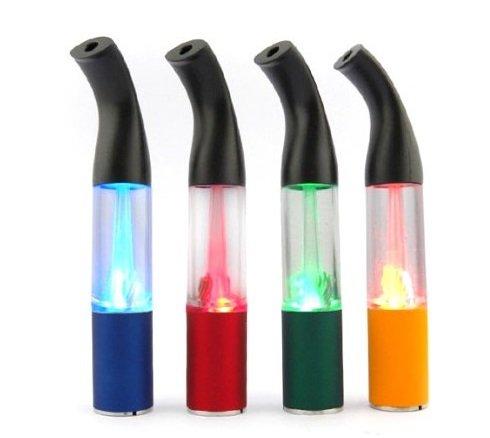 4 FARBEN MULTI-SPARPACK LED CLEAR VERDAMPFER BLAU / ORANGE / GRÜN / ROT - RFS1 Passend für alle eGo T / eGo C eGo W E-Zigaretten - Clearomizer mit ergonomisch geformtem Mundstück