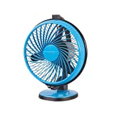 Luminous Multipurpose Buddy 230mm Cabin Fan (Aqua Blue)