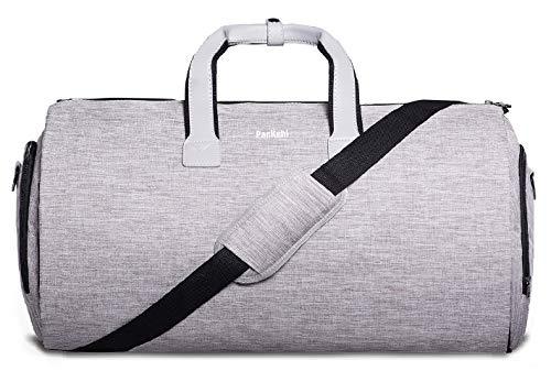Reisetasche UND Reise-Kleidersack 2in1 | Laptoptasche, Geschenkbox +Gepäckanhänger Gratis | Weekender-Tasche, Anzugtasche Reise Seesack für Männer Reisetaschen Handgepäck für die Reise Anzugsack Hülle