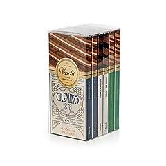 Idea Regalo - Kit Degustazione con 6 Tavolette di Cioccolato Cremino 660g - 1878, Extra Fondente, al Pistacchio - Senza Glutine