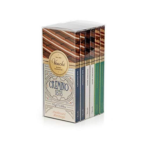 Kit Degustazione con 6 Tavolette di Cioccolato Cremino 660g - 1878, Extra...