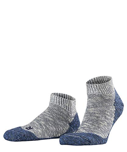 FALKE Herren Lodge Homepad M Hp Stoppersocken, Blau (Storm 6340), 43-44 (UK 8.5-9.5 Ι US 9.5-10.5)