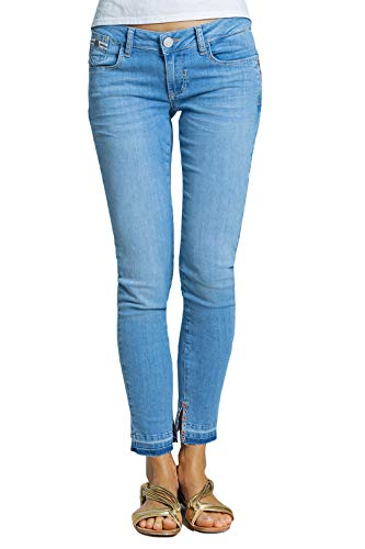 Blue Fire Co Chloe 001 - Skinny, Light Pacific Washed 30/27 - Damen