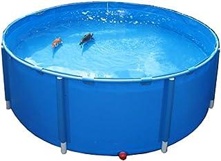 AquaForte Plegable Platillos Quality koivats Diámetro 250x 100cm, Color Azul