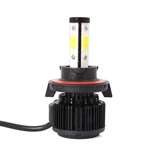 Ampoules De Phare De Brouillard De La Voiture H13 Led, X6 9008 / H13 1Pc 50W 8000Lm 6500K Épi Blanc Ip68 Imperméabilisent La Sécurité