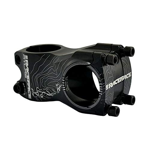 Race Face Atlas MTB Downhill Vorbau 31.8x50mm 0 Grad Black, RF1989