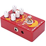 Effect Pedal, Distortion Guitar Pedal Easy To Carry for Guitarists for Music Club for Music Lovers for External Performances