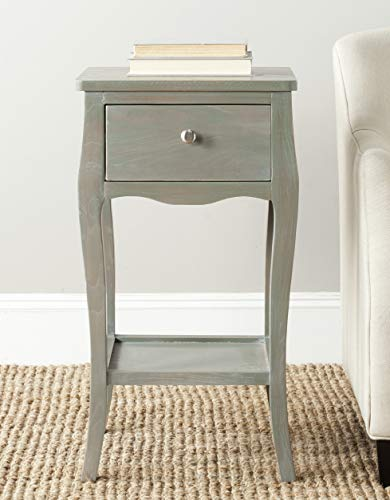 Safavieh American Homes Collection Thelma End Table, French Grey
