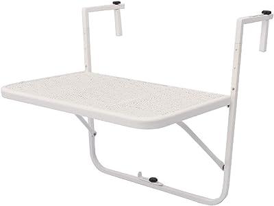 Tavolino Pieghevole Da Ringhiera Ikea.Tavolo Pieghevole Da Ringhiera Per Il Tuo Balcone Amazon