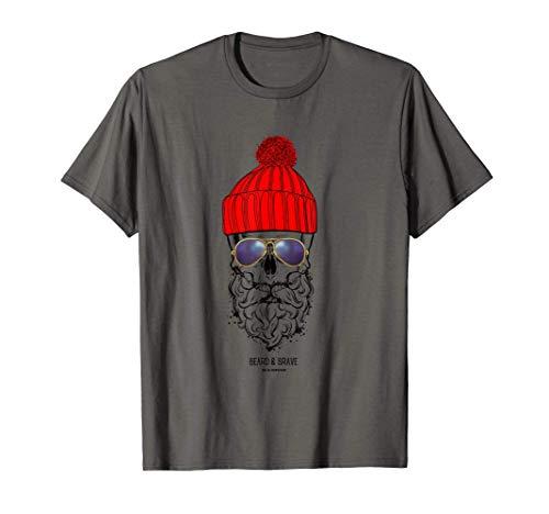 Elbrausch Hamburg Beard & Brave Hipster Shirt T-Shirt