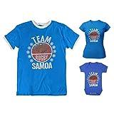 Team Samoa Rugby Dames Ladies Retro T-Shirt