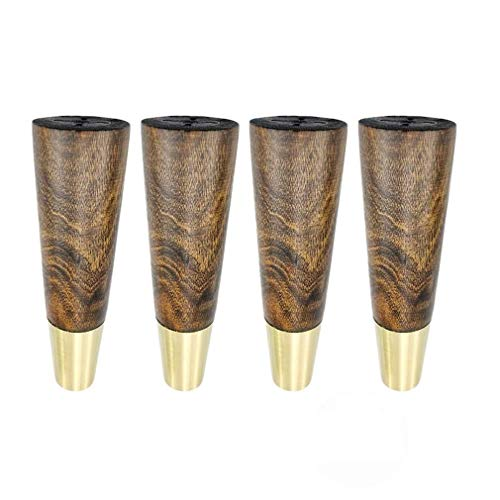 * 4 patas de los muebles del gabinete de cocina de madera...