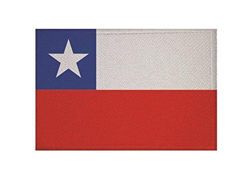 U24 Aufnäher Chile Fahne Flagge Aufbügler Patch 9 x 6 cm