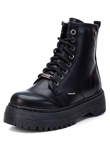 REFRESH Mat Boots Frauen Stiefel schwarz EU39