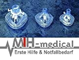 PVC Beatungsmasken KINDER Set - 3 teilig - Beatmung - Masken - MIH Medical