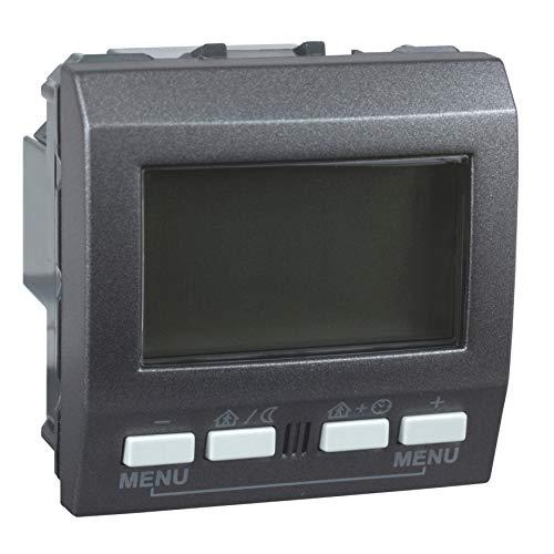 Schneider Elec rls – cco 64 00 – thermostaat met enkele weergave knx grafiet