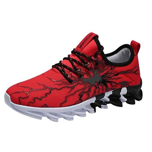 Cenday Herbst Herren Damen Paar Schuhe Sportschuhe Laufschuhe Turnschuhe Profilsohle Sneakers Leichte Outdoor Fitness StraßEnlaufschuhe Sneaker