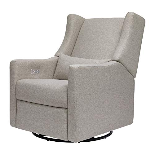 Babyletto Kiwi Electronic Power Recliner and Swivel Glider with USB Port in...