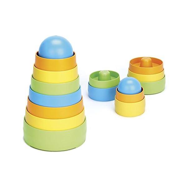 Green Toys - Stacker, juego de construcción (STK01R)