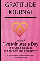 Gratitude journal: Journal Five minutes a day to develop gratitude, mindfulness and productivity By Simple Live 7138