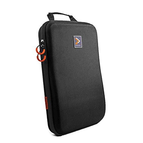IAMRUNBOX Schwarz Singlepack Kleidertasche – Hemdentasche, Handtasche Und Reisetasche - Kleidersack Für Den Transport Von Hemden Und Hosen Im Koffer