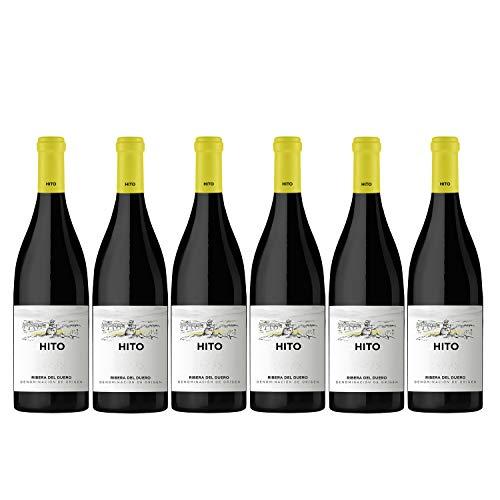 CEPA 21 - Hito, Vino Tinto, Tempranillo, Ribera del Duero, Pack de 6 botellas de 750 ml