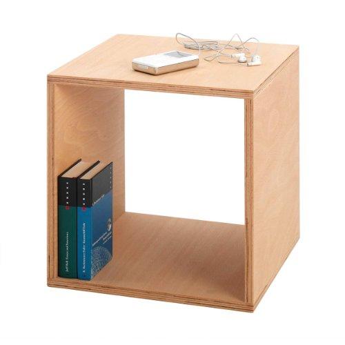 Tojo Cube Nachttisch 35x35 cm, buche geölt LxBxH 35x35x35cm