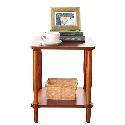 Carl Artbay Home & Selected Bijzettafel/massief houten bijzettafeltje, woonkamer, plaats 2 dieren, sofa, bijzettafel, hoektafel, telefoon, tafel, slaapkamer, nacht