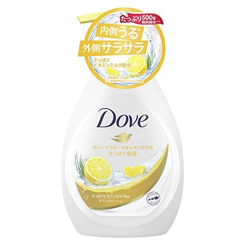 Dove(ダヴ) ダヴ ボディウォッシュ グレープフルーツ&レモングラス ポンプ 500g ボディーソープ ボディソープ 単品