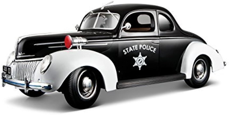 autentico en linea Maisto 1939 Ford Deluxe State Police Coche Special Edition Edition Edition 1 18 by Maisto  orden ahora con gran descuento y entrega gratuita