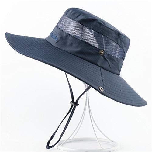 VooZuGn Unisex Adulto UPF 50+ Sombrero De Sol Al Aire Libre Plegable Secado Rápido Transpirable Multiusos para El Gorro Pescador Anti-UV El Verano Hat Hombre Mujer Womens Malla
