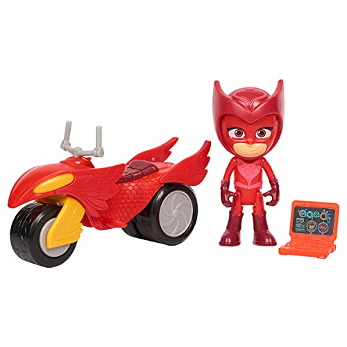 PJ Masks Super Moon Adventure Space Rover, Owlette, by Just Play